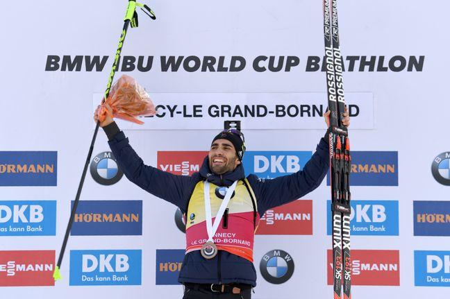 Martin Fourcade remporte la mass start du Grand-Bornand