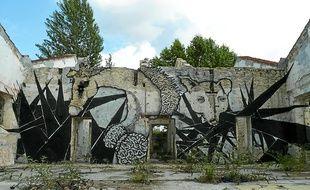 Art urbain à Caudéran.