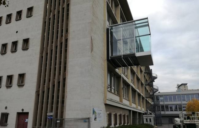 Le fameux balcon de l'Insa, développé après trois ans de réflexion par plus de cent étudiants.