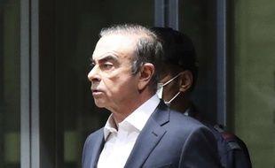 Carlos Ghosn a été libéré sous caution le 25 avril.