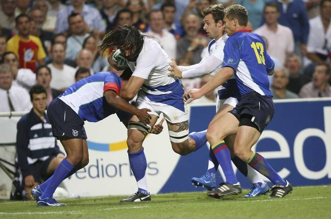 France - Namibie en 2007, en pleine «Chabalmania».