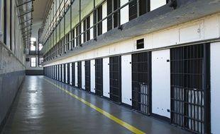 Cellules d'une prison du Montana aux Etats-Unis.