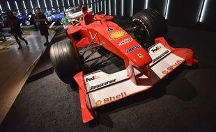 Une Formule 1 de Michael Schumacher a été vendue pour 7,5 millions d'euros aux enchères (photo d'illustration).
