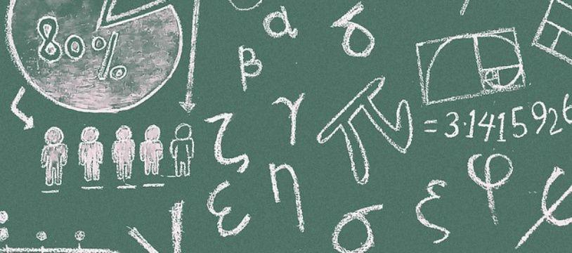 Photo d'illustration de mathématiques.