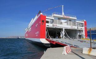 Le navire Jean Nicoli de la Corsica Linea