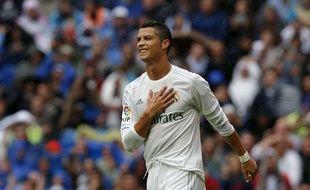 Cristiano Ronaldo lors de Real Madrid-Levante le 17 octobre 2015.