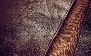 Illustration de cuir.