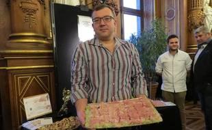 Franck Leurond, 47 ans, charcutier parisien