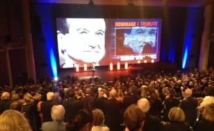 Hommage à Robin Williams lors de la soirée d'ouverture à Deauville