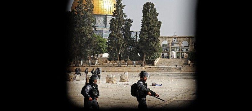 Tension à Jérusalem, illustration