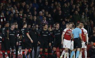 Rennes n'a quasiment pas existé au match retour à Arsenal.
