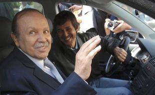 Le président déchu Abdelaziz Bouteflika et son frère Saïd Bouteflika.