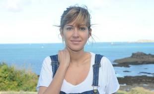 Amanda Sthers à Dinard en octobre 2013.