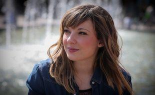 Strasbourg le 09 04 2014. Natacha Andréani, candidate à The Voice 2014