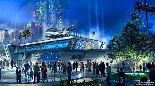 Le campus Avengers du Disneyland d'Anaheim va bientôt ouvrir ses portes