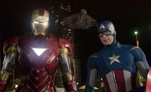 Iron Man et Captain America dans le film Avengers