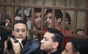 26 hommes dénoncés en raison de leur homosexualité et arrêtés dans un hammam du Caire ont été jugés pour «débauche» en 2015.