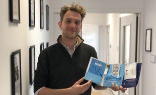 Pierre Cressard a fondé la start-up Nahibu en mars 2019 à Rennes.