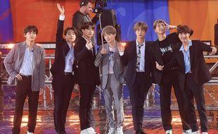 Le groupe de K-Pop BTS.