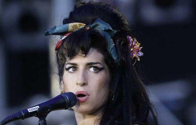 La chanteuse Amy WInehouse lors du festival Arganda del Rey en juin 2008.