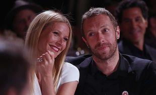Gwyneth Paltrow et Chris Martin à Beverly Hills en janvier 2014.