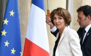 La ministre de la Santé Marisol Touraine le 10 mai 2016 à l'Elysée