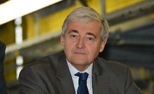 Pierre Mongin, président de la RATP, le 14 octobre 2013.