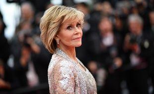 L'actrice Jane Fonda au Festival de Cannes 2018.