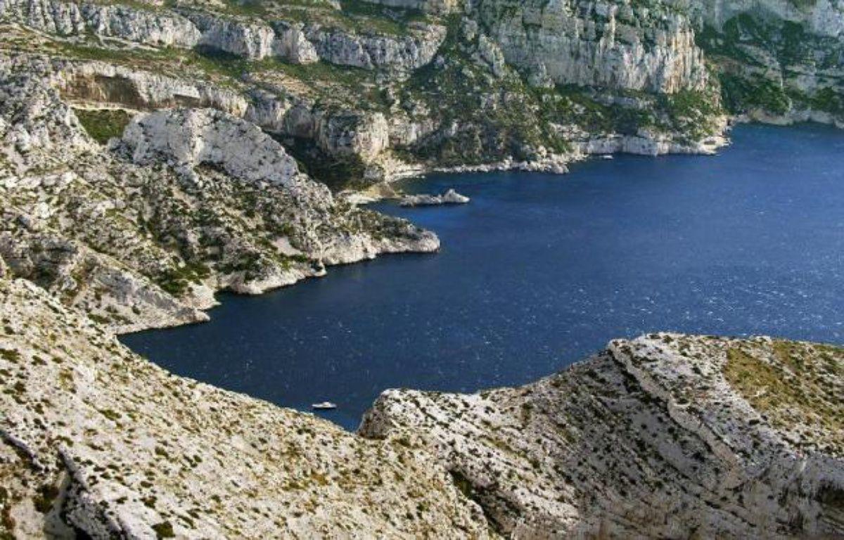 Vue partielle d'une calanque près de Marseille en 2003 – Boris Horvat AFP