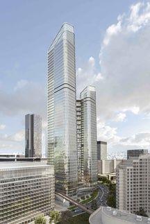 La future tour «The Link» à La Défense abritera le siège de Total en 2025.