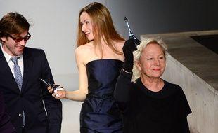 Pour sa collection automne-hiver 2014-2015, Agnès B. avait convié Thomas Dutronc sur le catwalk.