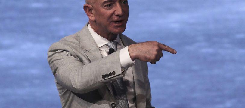 Jeff Bezos en juin 2019. (AP Photo/Charles Krupa)