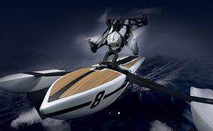 Le drone HydroFoil de Parrot.