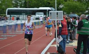 Le jeune coureur espère qu'il sera sélectionné pour les championnats d'Europe qui ont lieu mi-juillet en Pologne.