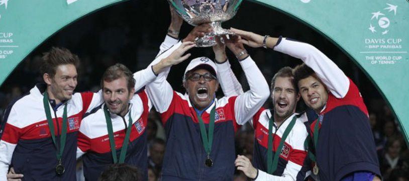 Yannick Noah et les Bleus vont tenter le doublé en Coupe Davis.