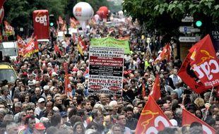 Manifestation contre la loi travail, le 28 juin 2016 à Paris
