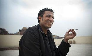 Mustapha, la vingtaine, se sent dépossédé de la révolution de la place Tahrir. Ici au Caire, le 16 février 2012.