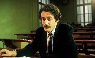 L'écrivain Jean-François Vilar dans «La boite a mots» sur TF1 en 1986.