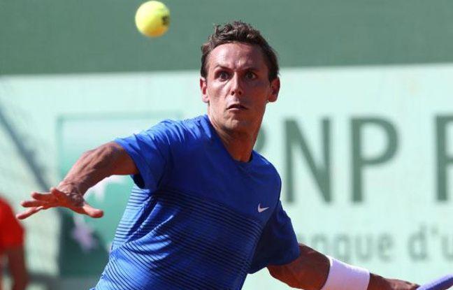 Le Français Nicolas Devilder, le 27 mai 2012? àRoland-Garros.