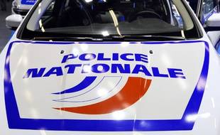 Voiture de police, illustration