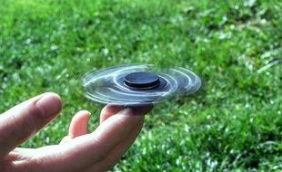 Illustration d'un hand spinner.