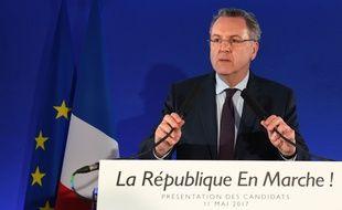 Le secrétaire général du parti d'Emmanuel Macron, Richard Ferrand, a annoncé jeudi 11 mai 2017 l'investiture de 428 candidats de la République en marche.