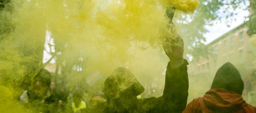 Un manifestant lors d'un rassemblement des «gilets jaunes» à Toulouse (illustration.)