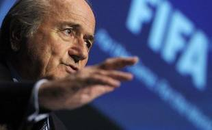 Sepp Blatter, le président de la Fifa, le 11 novembre dernier, à Zurich.