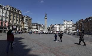 La Grand' Place de Lille.