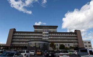 L'hôpital de Yokkaichi où est soigné le pilote français de Formule Jules Bianchi, le 5 octobre 2014, au Japon.
