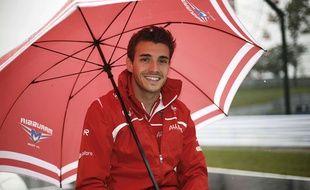 Jules Bianchi juste avant le Grand Prix de Suzuka, le 5 octobre 2014.