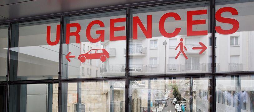 Les urgences d'un hôpital (Illustration)