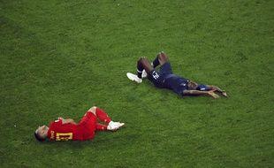 Matuidi a subi un énorme choc avec Eden Hazard.