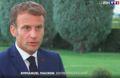 Emmanuel Macron sur TF1 le dimanche 29 août 2021.